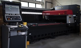 AMADA 4KW laser cutting machine
