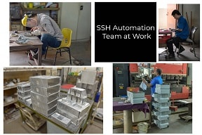 SSH Team at Work