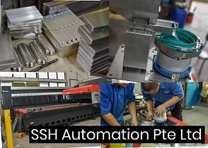 SSH Automation - parts feeding and sheet metal fabrication Singapore